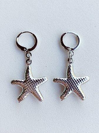 Argolinha Estrela do Mar Semijoia