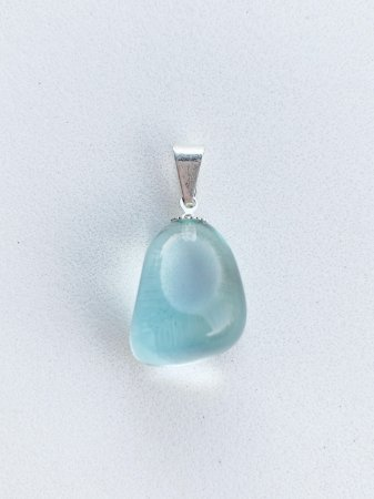 Pingente Obsidiana Azul Bijuteria