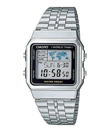 Relógio Casio Mundo Digital