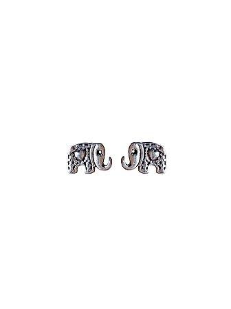 Brinco Elefante Prata