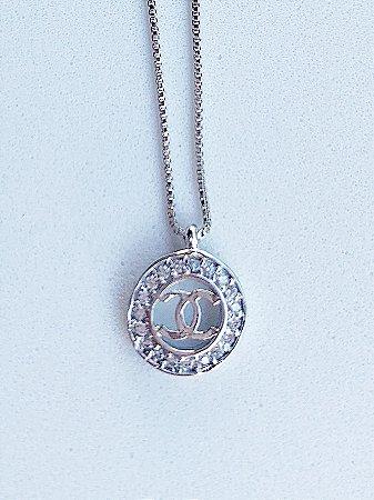 Colar Chanel Semijoia