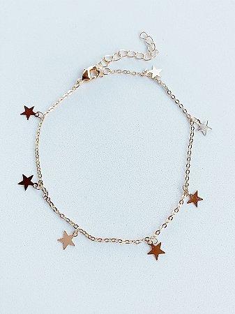 Tornozeleira Estrela Semijoia