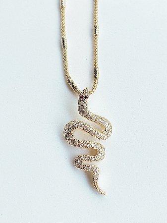 Colar Cobra Semijoia