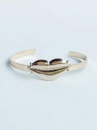 Bracelete Lips Semijoia