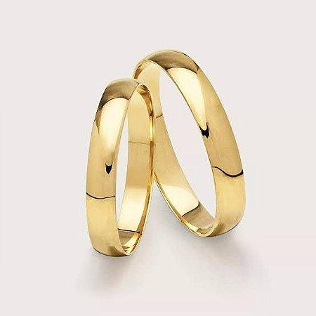 Aliança Tradicional com Aproximadamente 2 Gramas de Ouro18k CADA ALIANÇA