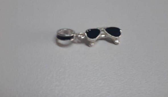 Berloque Prata 925 Óculos