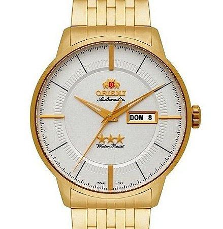 Relógio Analógico Automático Dourado 469gp061