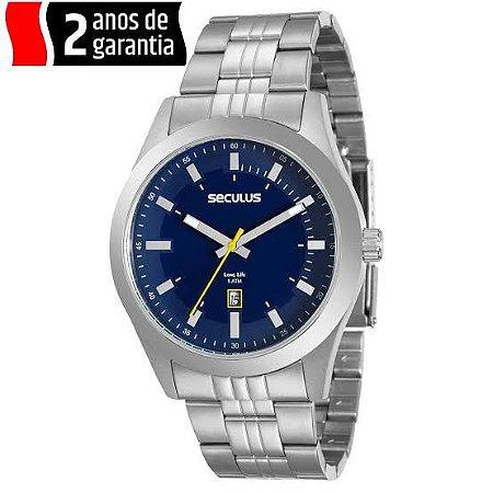Relógio de Pulso Grande Seculus 20408g0svna4