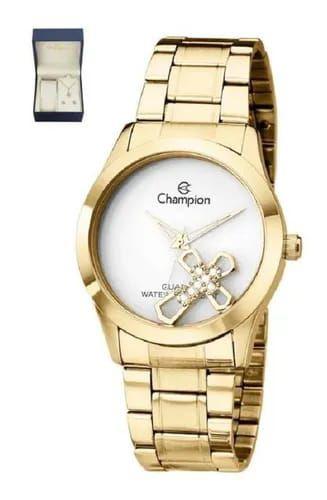 Kit Relógio Champion feminino ch25909w