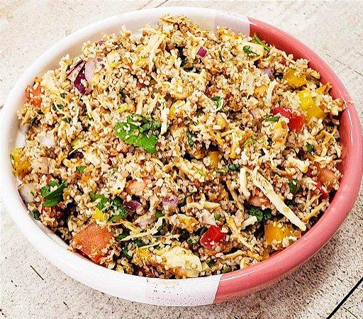 Salada Marroquina com Frango Desfiado