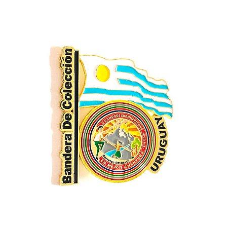 Pin, DSA Bandera de Colección, Uruguay