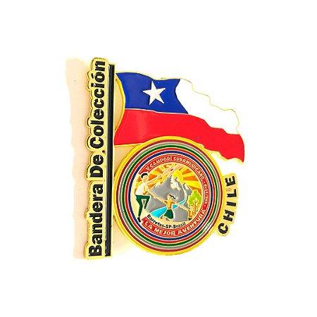 Pin, DSA Bandera de Colección, Chile