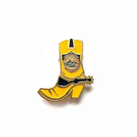 Pin, DSA2019, Bota, amarela, Conquistadores