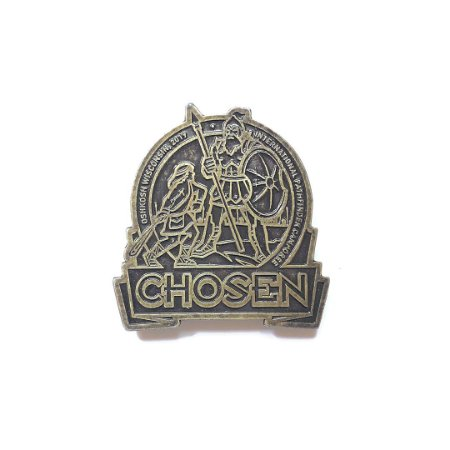 Pin Chosen, Dourado Envelhecido