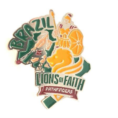 Pin Chosen, Brazil, Lions of Faith