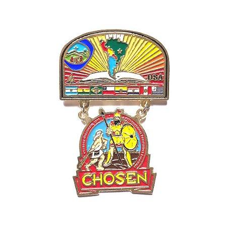 Pin Chosen, Brasão da DSA com logo Chosen, Aventureiro