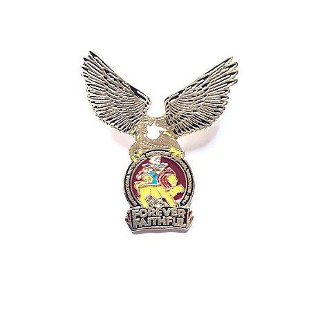 Pin Forever Faithful, logo com águia
