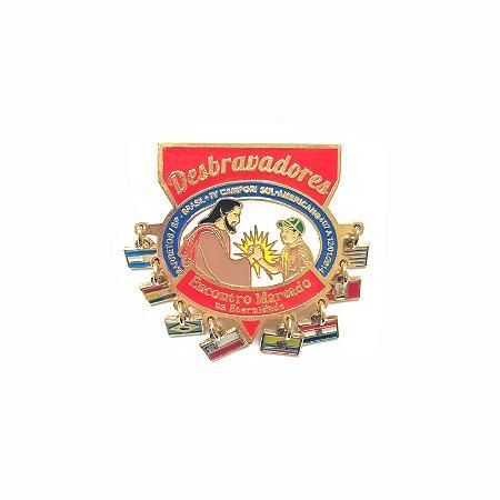 Pin, DSA 2014, Com 8 bandeirinhas