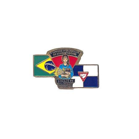 Pin, Linaje de Campeones, Bandeiras do Brasil e DBV
