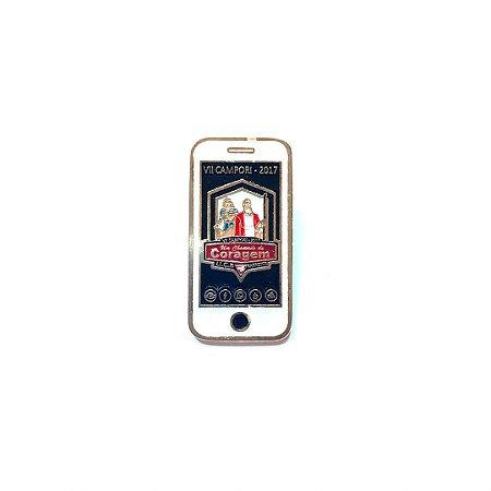 Pin, Um Chamado de Coragem, celular, fundo Preto