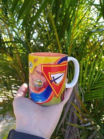 Caneca, Logo DBV com Especialidades e interior laranja