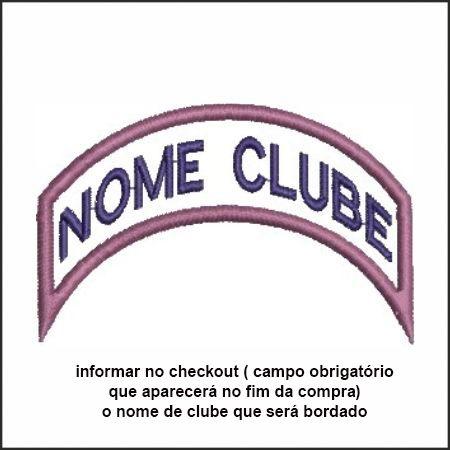 TIRA DE NOME DE CLUBE BORDADO AVT