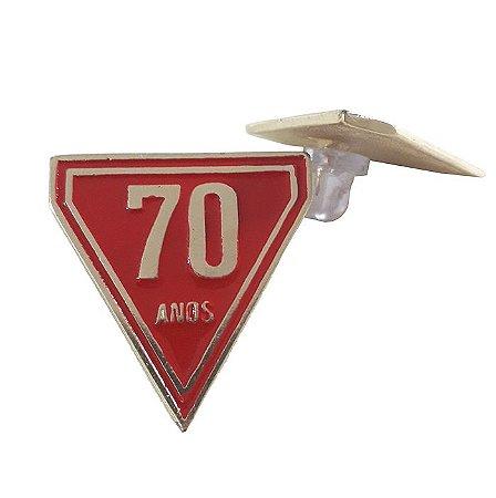 PIN TRIANGO DOS 70 ANOS DBV