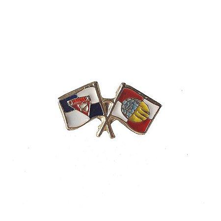 Pin, bandeiras DBV e J.A