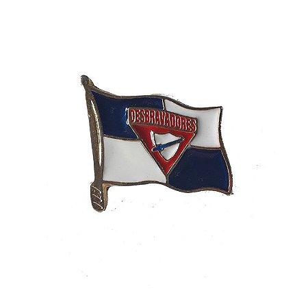 Pin, bandeira DBV no mastro
