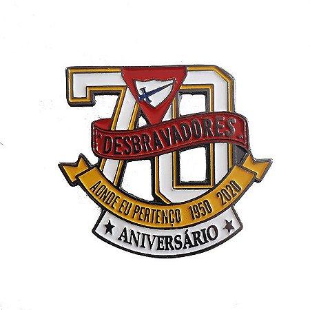 PIN F0RMATO 70 ANOS VAZADO