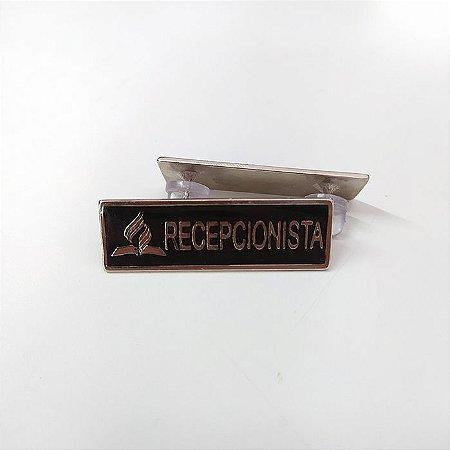Tira de  cargo metal, Recepcionista Níquel