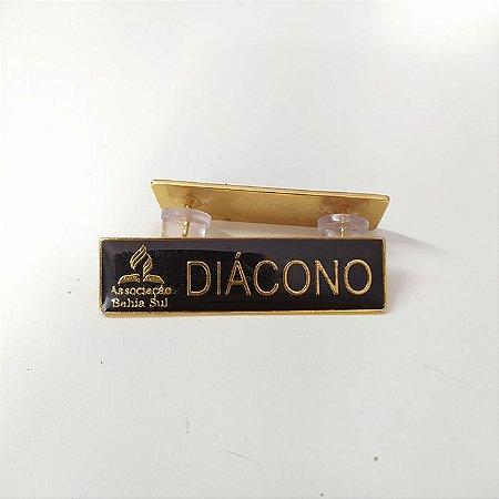 Tira de cargo metal, Diácono Dourado, Associação Bahia sul