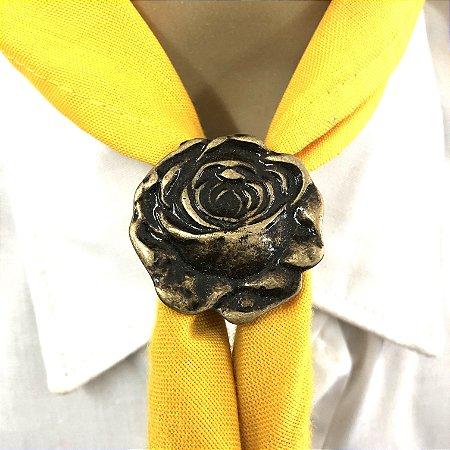 Prend. de lenço, Flor 3D