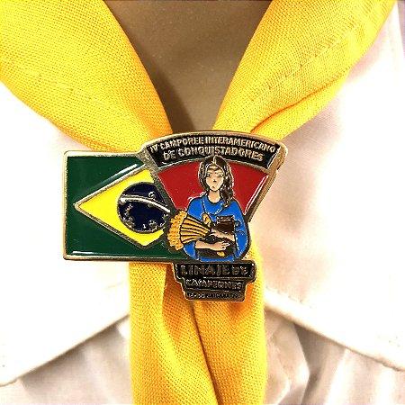 Prend. de lenço, Linaje de Campeones, Bandeira do Brasil