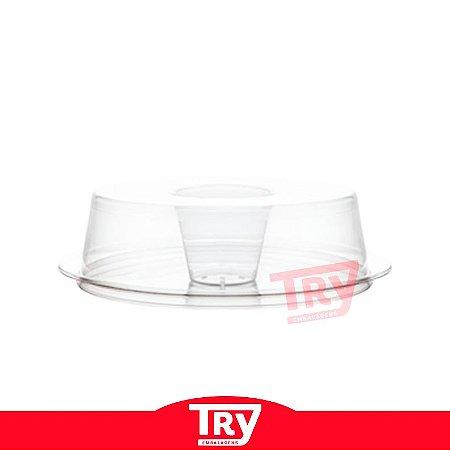 Forma Forneável para Pudim 1100 ml (30 unidades)