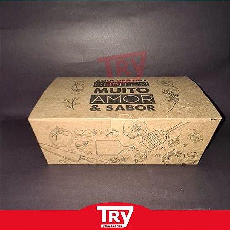 Caixa Box Multiuso P/ Porções Em Geral Grande (50un)