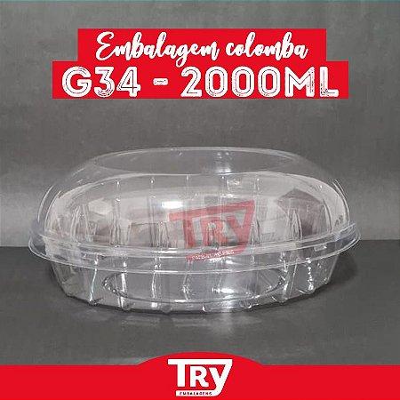 Embalagem Colomba G 34 - 2000ml (25 UNIDADES)