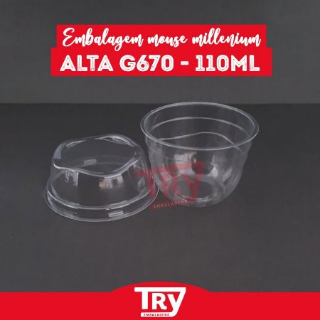 Embalagem Mouse Millenium Alta G 670 - 110ml