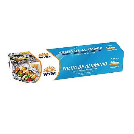 ROLO DE ALUMINIO 30CMx100M - 9 UNIDADES