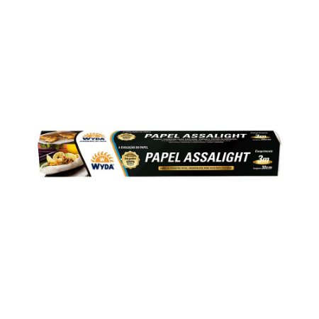 PAPEL ASSALIGHT 30CMx3M – 6 UNIDADES