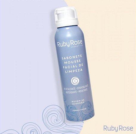 Sabonete Mousse Facial de Limpeza - Ruby Rose
