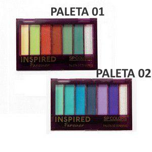 Paleta de Sombras Inspired Forever - SP Colors