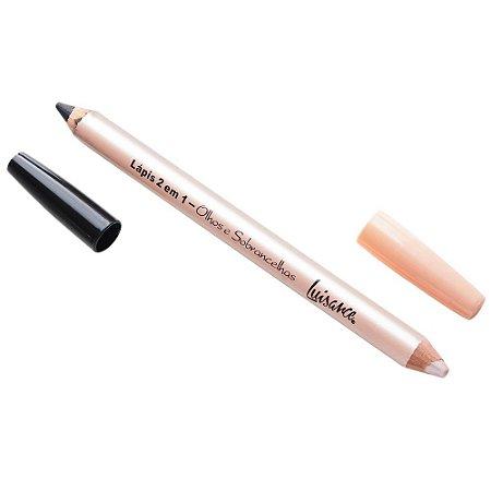 Lápis 2 em 1 para Olhos e Sobrancelhas - Luisance