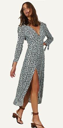 Vestido Julien Nath Midi Dress