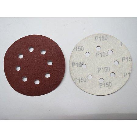 Disco De Lixa Com Aderência Grao 150 125mm 5x1 738079 Mtx