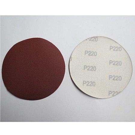 Disco De Lixa Com Aderência Grao 220 125mm 10x1 738709 Mtx
