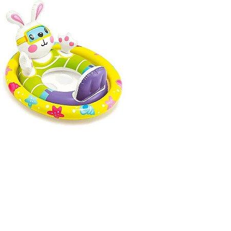 Boia Tartaruguinha  Infantil Baby Bote Kiddie Intex 59570