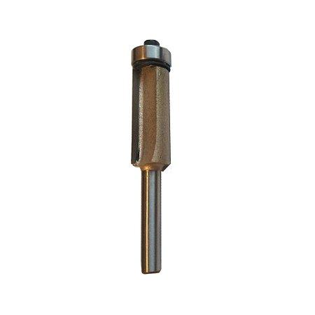 Fresa Reta Dupla 1/2  Rolamento Haste 6mm CT-02010804 Ctpohr