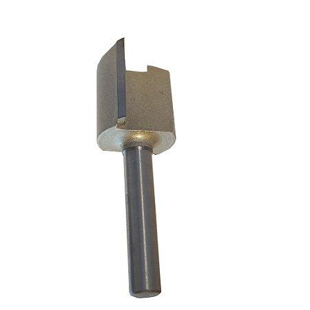Fresa Reta Dupla 1/2 Haste 6mm CT-01040804 Ctpohr