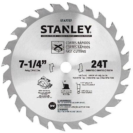 Disco Serra Circular 7-1/4 Madeira 24 Dentes STA7737 Stanley